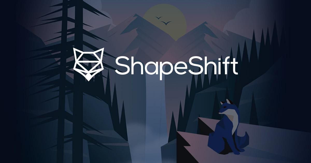 shapeshift new platform
