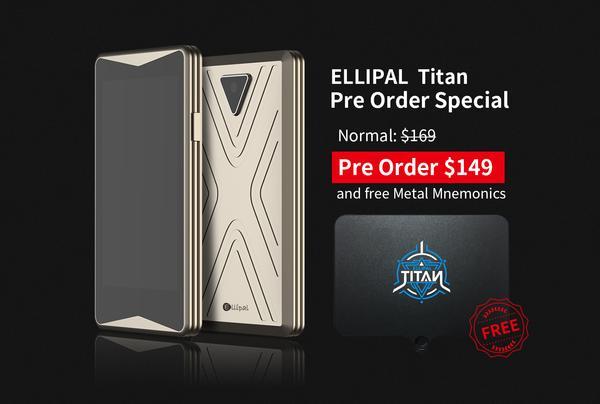 Ellipal Titan Pre-Order